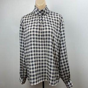 Country Sophisticates-Pendleton Vintage Blouse